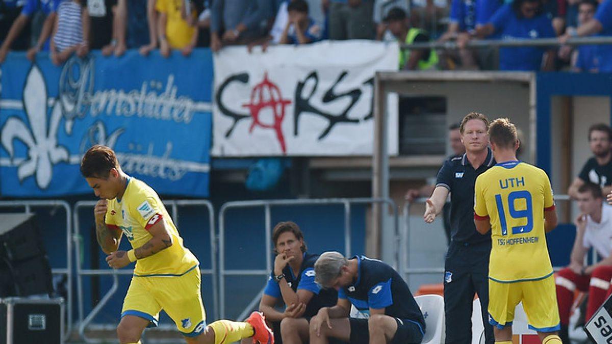 Eduardo Vargas debuta y juega 14 minutos en empate del Hoffenheim