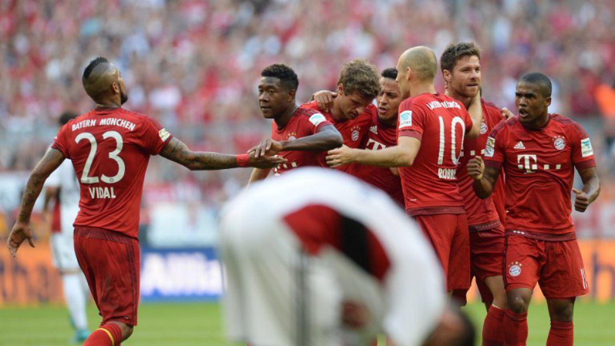 Bayern Munich con Vidal imparable: Golea al Leverkusen de Aránguiz