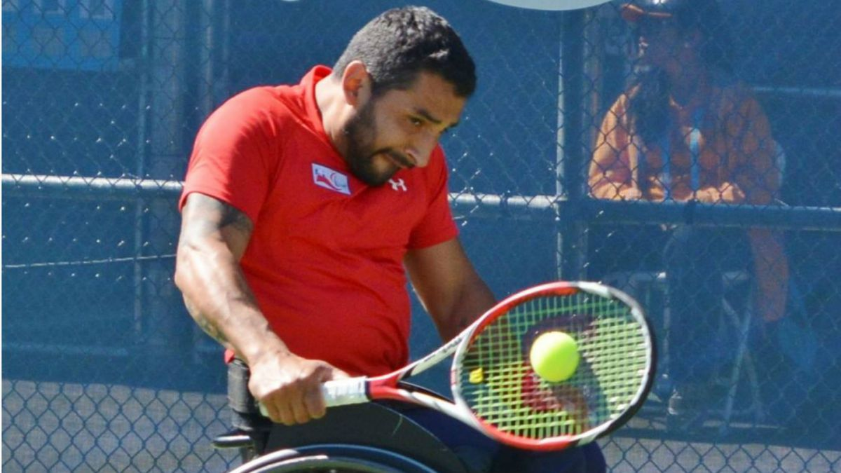 Tenista paralímpico Robinson Méndez pierde final del Open de Rusia