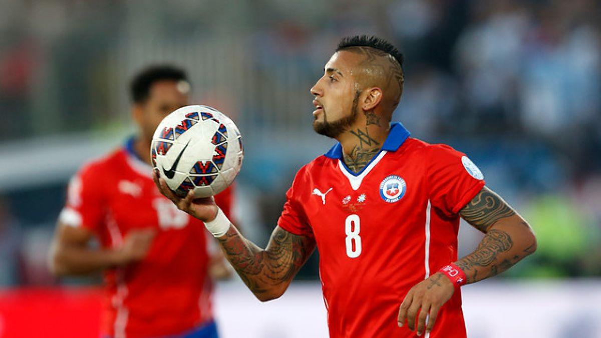 """Vidal, Isla y Albornoz ya están en Chile para sumarse a la """"Roja"""""""