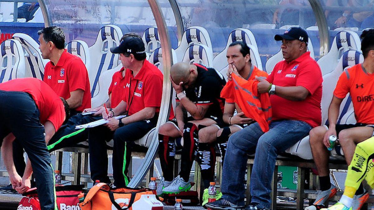 Humberto Suazo estaría entre dos a tres semanas fuera de las canchas por lesión