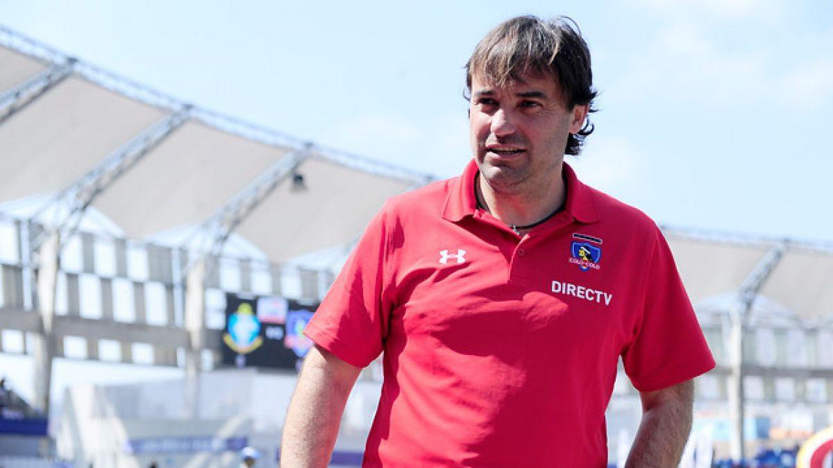 """Sierra descarta rotación: """"Vamos a jugar con lo mejor ante Coquimbo"""""""