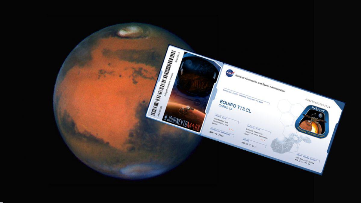 La Nasa Te Invita A Enviar Gratis Tu Nombre A Marte Tele 13