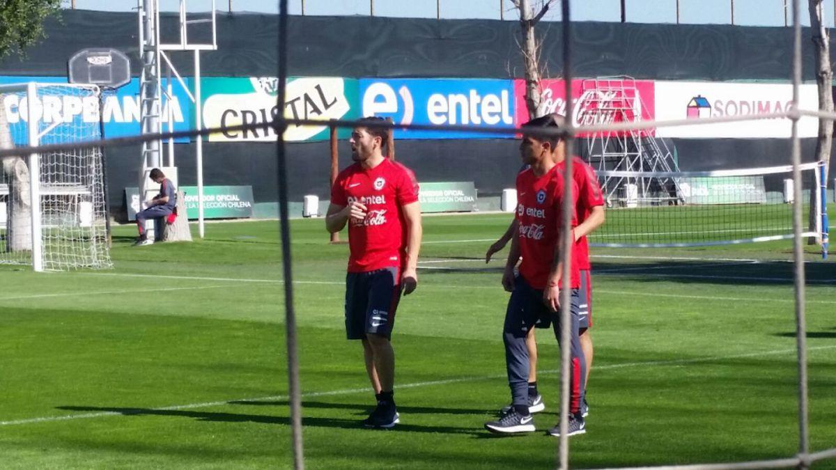 """Comienzan los trabajos de la """"Roja"""" en Pinto Durán de cara al amistoso ante Paraguay"""