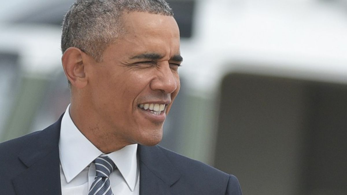 Barack Obama llega al programa de Bear Grylls