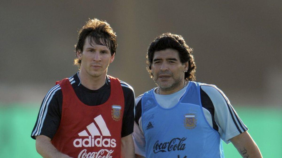 """Maradona alza la voz por situación de Messi: """"Tiene que seguir porque tiene cuerda para rato"""""""