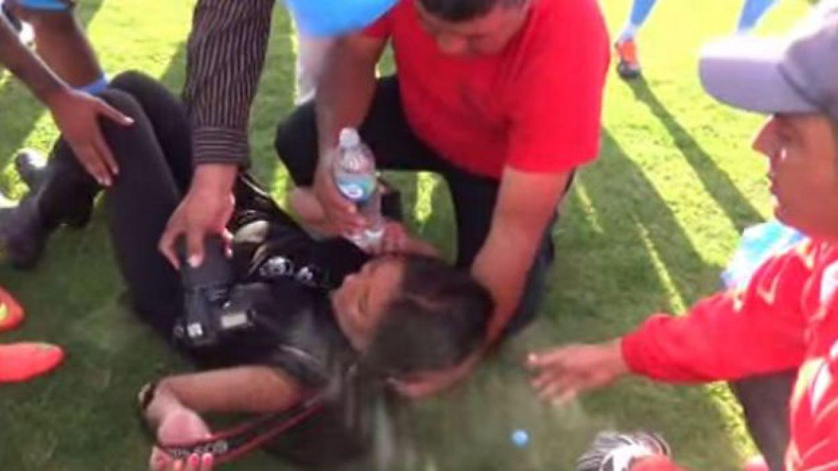 Agresión a periodista a manos de hinchas y un jugador indigna al fútbol peruano