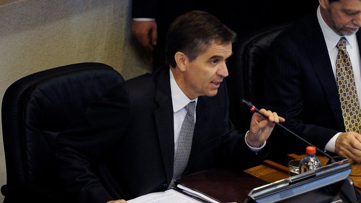 Rodrigo Vergara anticipa alza de tasas a fines de 2015 e inicios de 2016