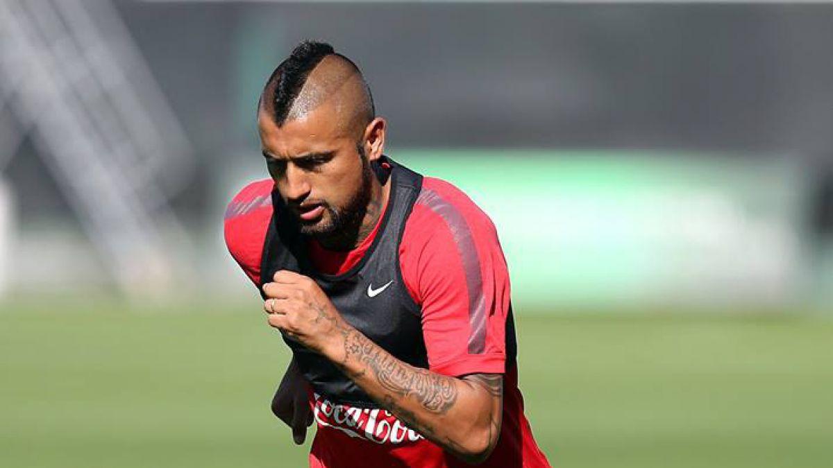Arturo Vidal es liberado de la Roja y no jugará ante Paraguay