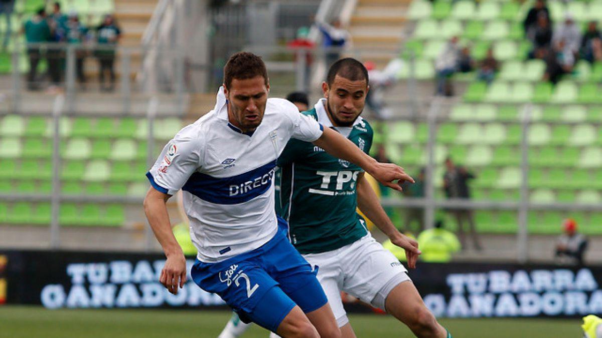 Zaguero sufre microdesgarro y la UC tiene cuatro bajas para Copa Chile