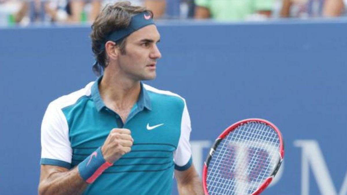 La curiosa nueva técnica con que Roger Federer sorprende en US Open