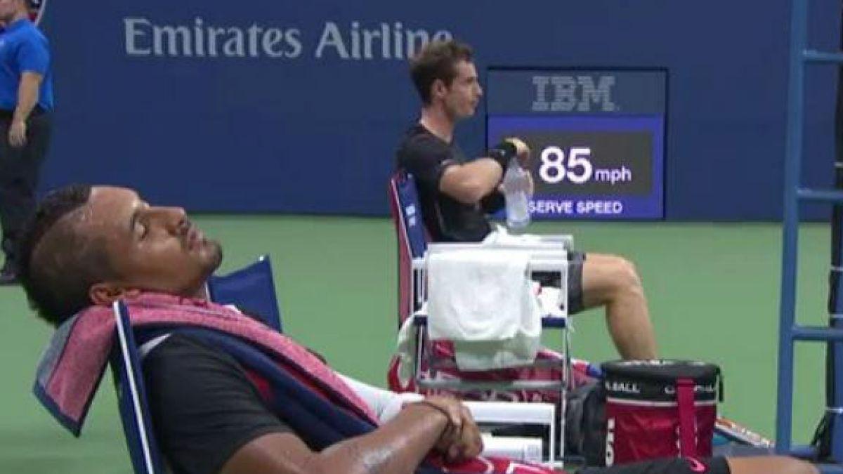 La alocada jornada del villano de la ATP durante su debut en US Open