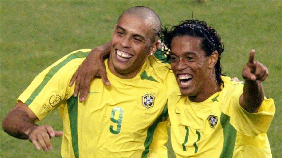 Ronaldinho reabre debate futbolero: ¿Fue mejor que Ronaldo?