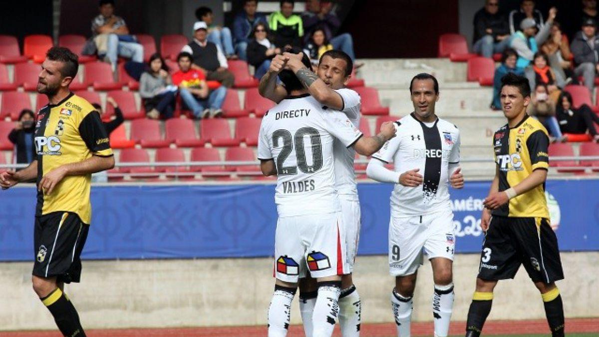 Colo Colo rescata empate ante Coquimbo por octavos de Copa Chile