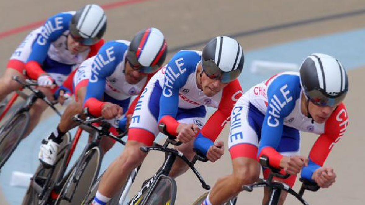 Chile alcanza medalla de bronce en Panamericano de ciclismo