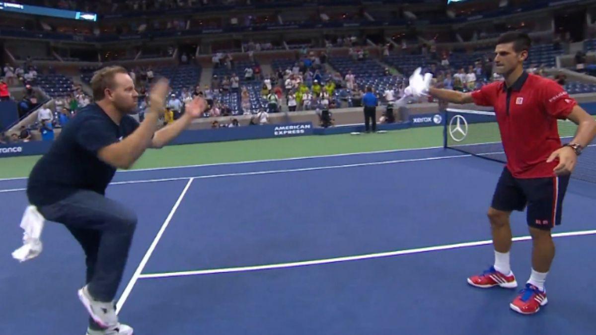 Djokovic se luce en US Open y celebra su triunfo con particular baile