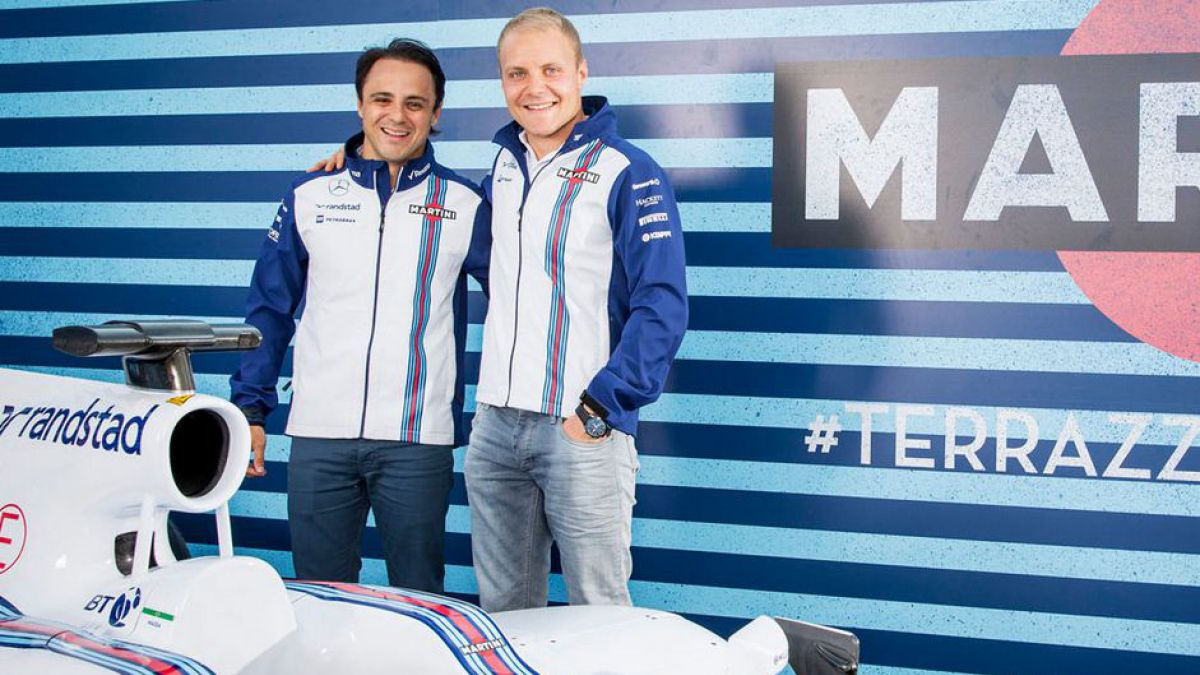 Felipe Massa y Valtteri Bottas seguirán con Williams en 2016