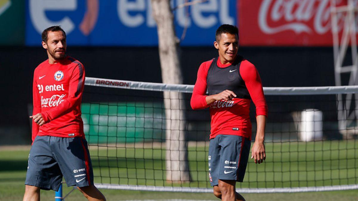 """La """"Roja"""" continúa con sus entrenamientos de cara al amistoso con Paraguay"""