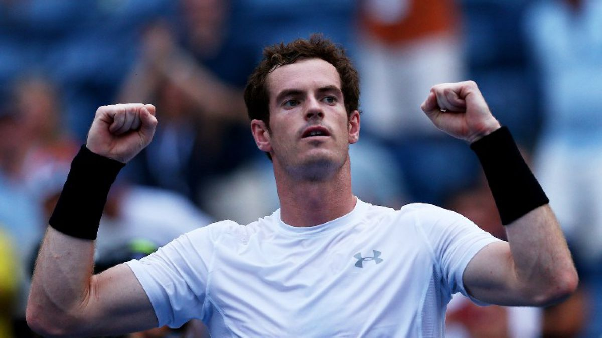 Murray gana extenso partido y bajo 30 grados de calor en el US Open