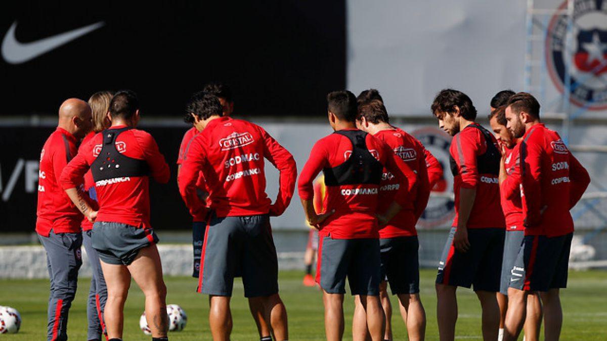 """Salvo Herrera el plantel de la """"Roja"""" ya está concentrado en Pinto Durán"""