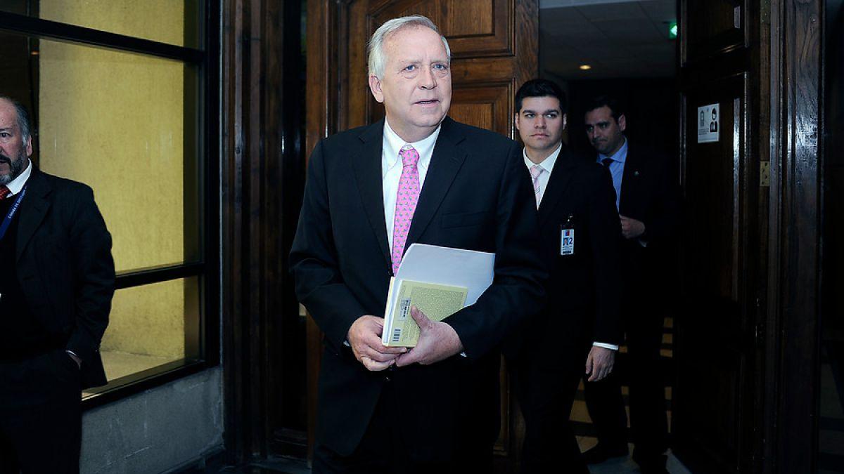 Jorge Burgos, ministro del Interior