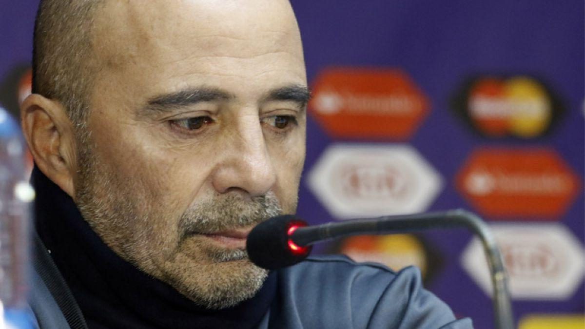 La dura conferencia de prensa que tendrá Jorge Sampaoli este viernes