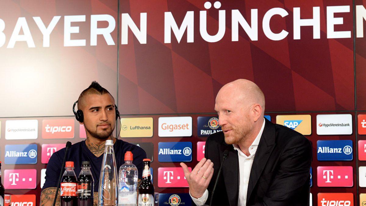 Director deportivo del Bayern Münich pedirá explicaciones a Arturo Vidal