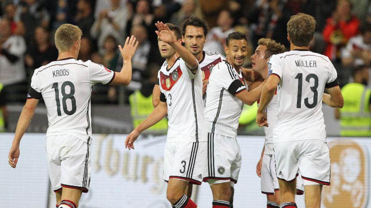 Irlanda del Norte es líder y Alemania gana en casa rumbo a la Eurocopa