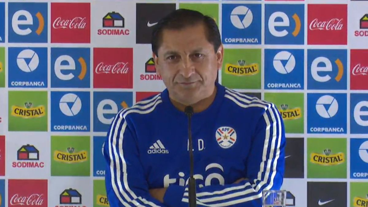 Ramón Díaz apunta a gran examen ante Chile y alaba trabajo de Sampaoli