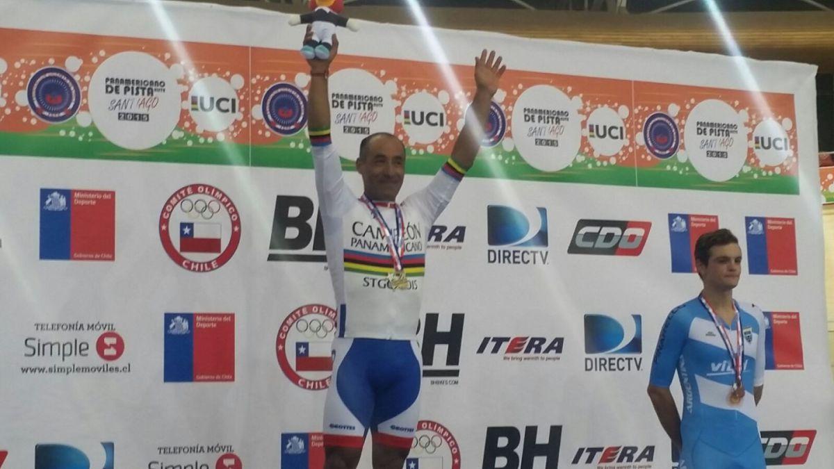 Luis Sepúlveda gana oro para Chile en Panamericano de ciclismo