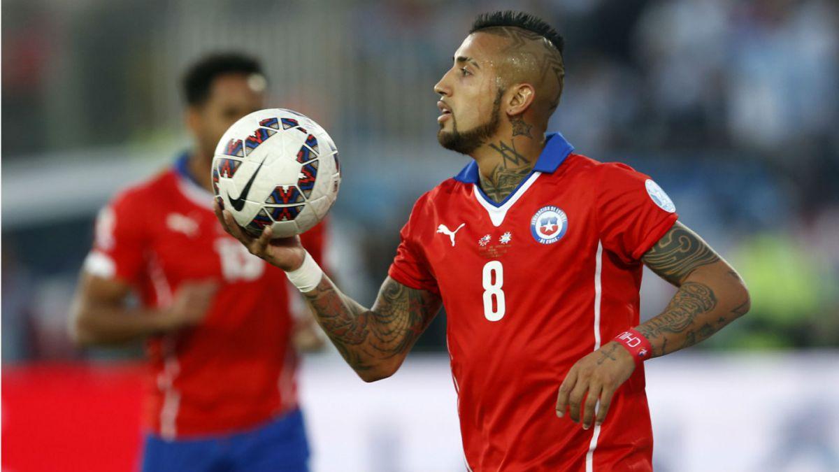 Arturo Vidal envía mensaje de apoyo a la Roja en su duelo ante Paraguay