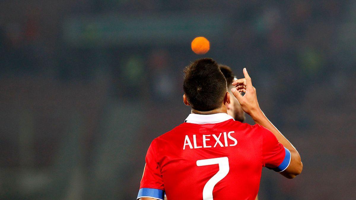 [VIDEO] Alexis entra al podio de los goleadores históricos de La Roja