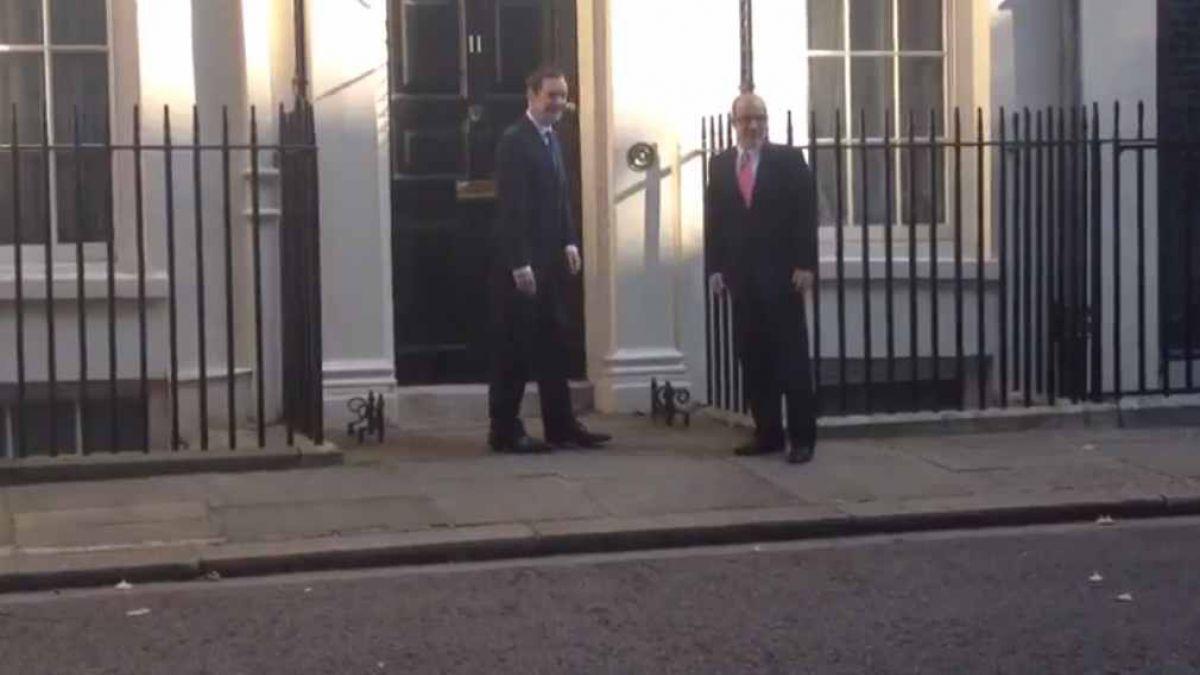 Reunión de ministros en Londres