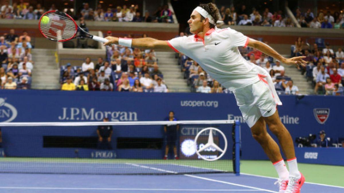 La impresionante volea de Isner que no le alcanzó para vencer a Federer