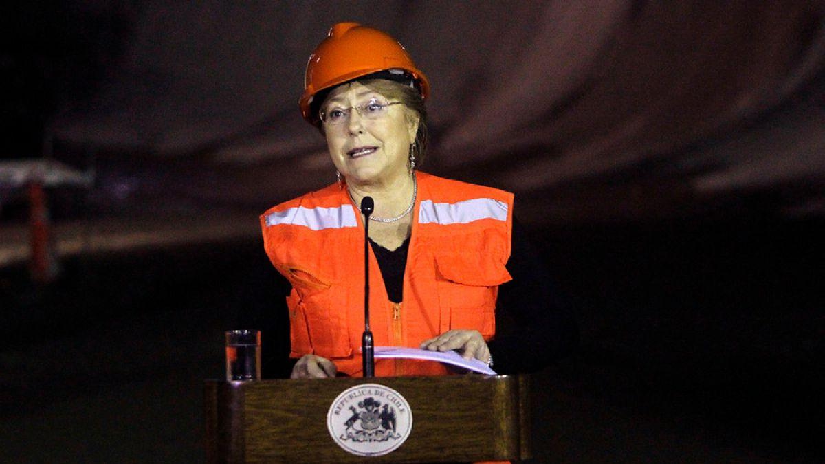 Presidenta Bachelet: La economía chilena creció a pesar de las dificultades