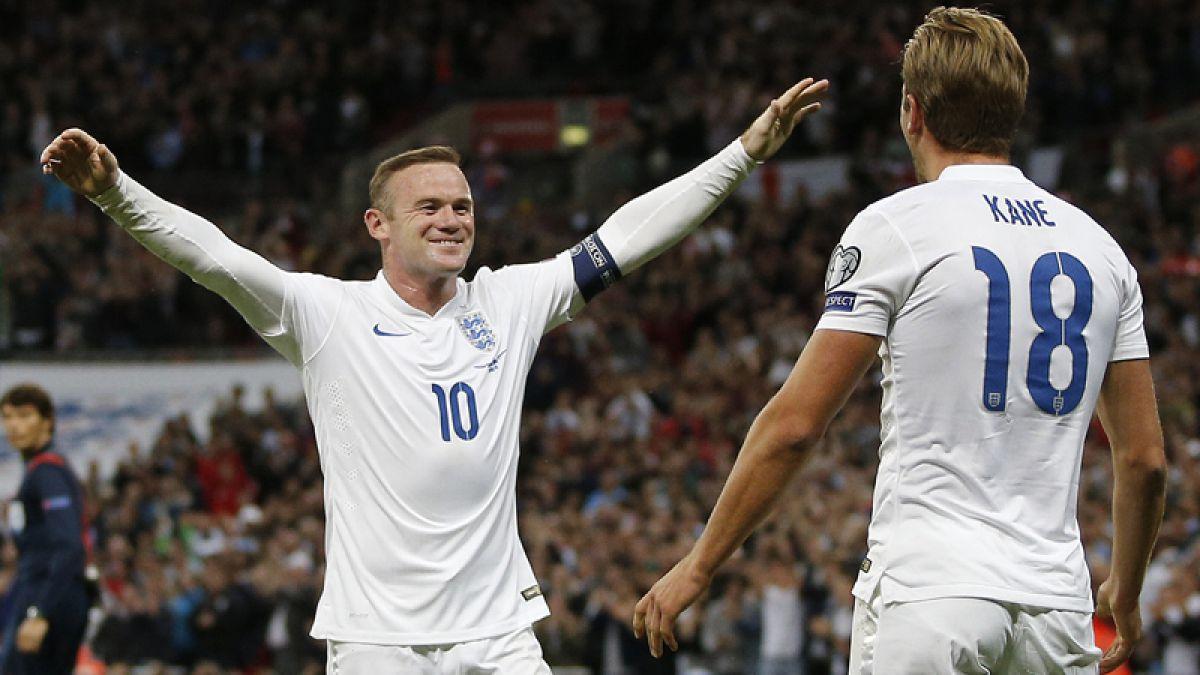 Wayne Rooney se transformó en el máximo goleador histórico de Inglaterra