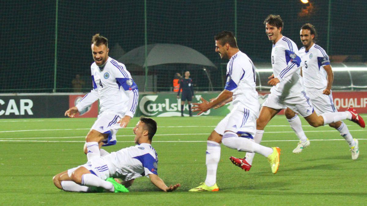 [VIDEO] Cuando ganar no lo es todo: La celebración de San Marino tras anotar de visitante