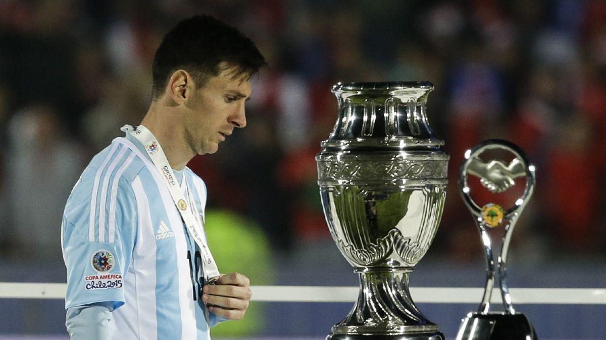 """Messi recuerda dolido final perdida con Chile: Fue un duro momento"""""""