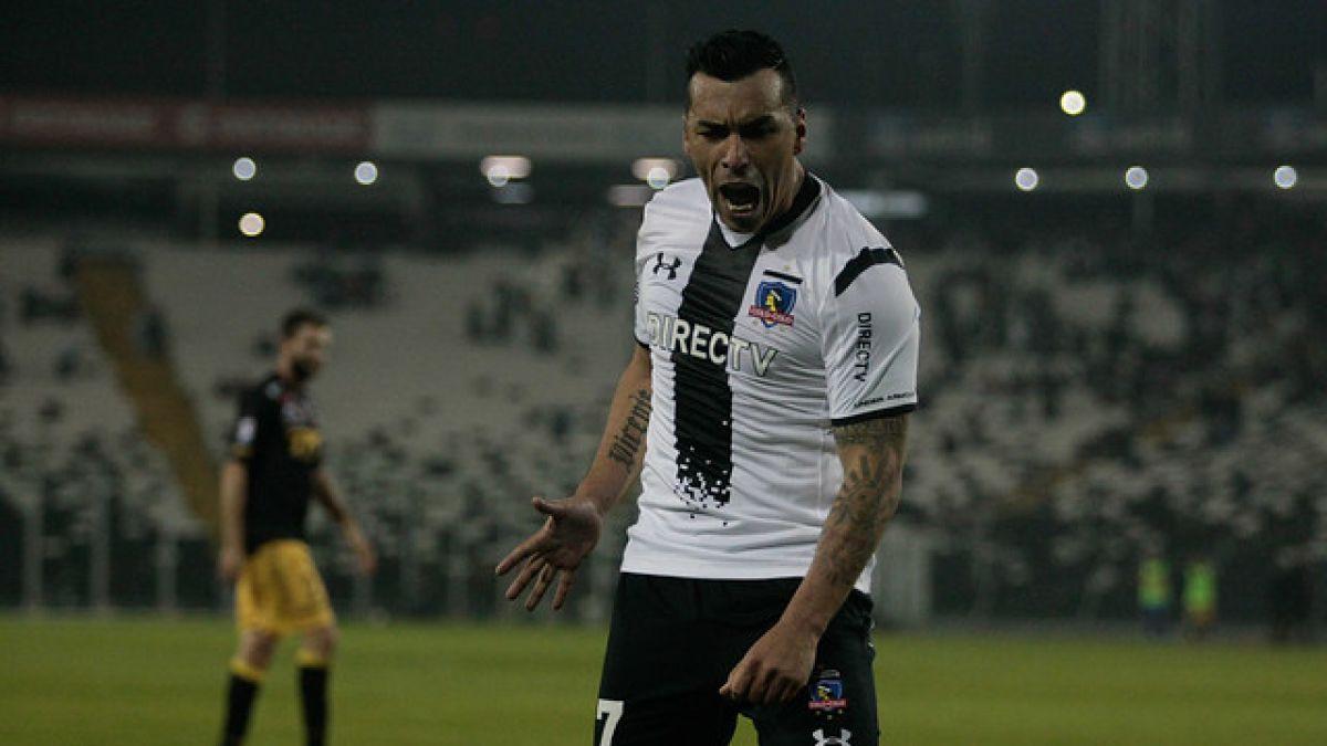 """Esteban Paredes: """"Estoy feliz por haber vuelto al gol"""""""
