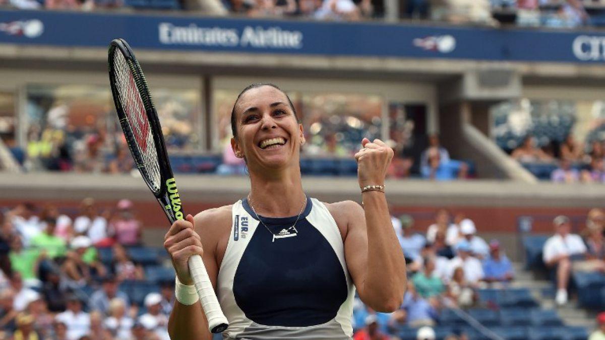 Italiana Pennetta da la sorpresa y está en semis del US Open