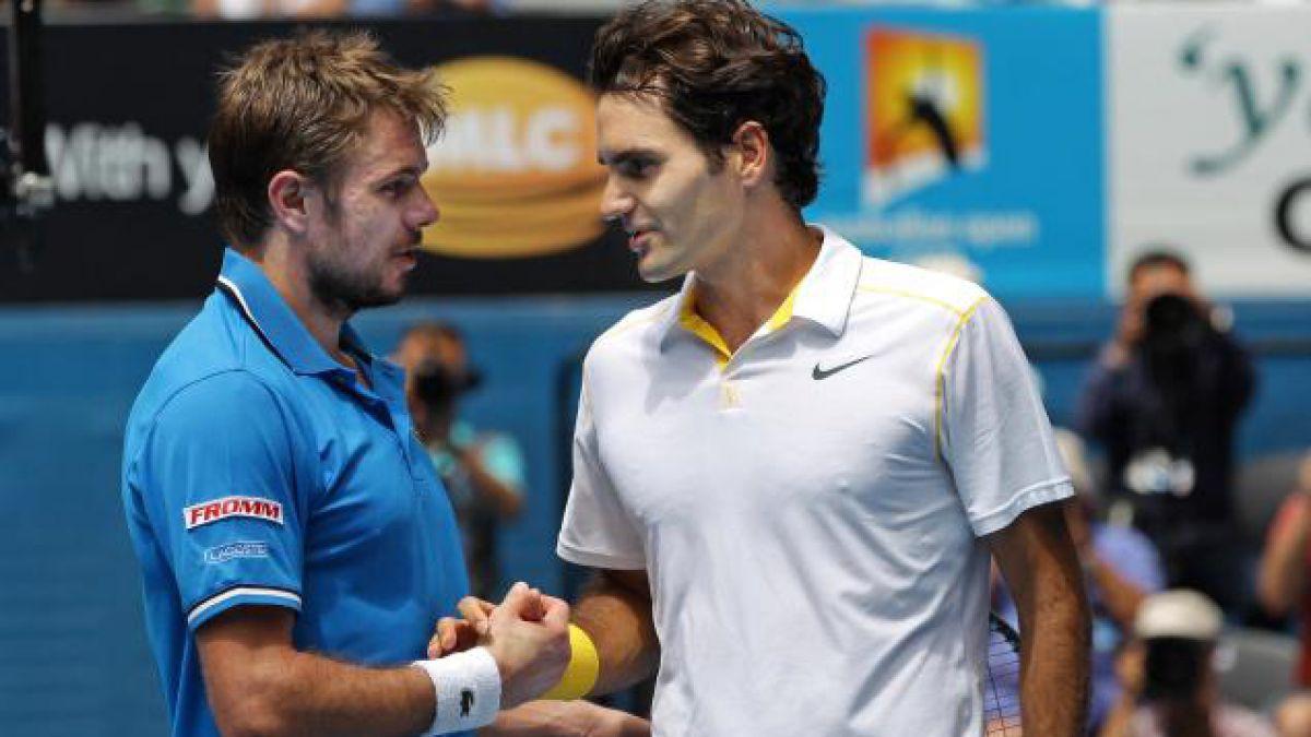 Federer y Wawrinka animarán semifinal suiza en el US Open