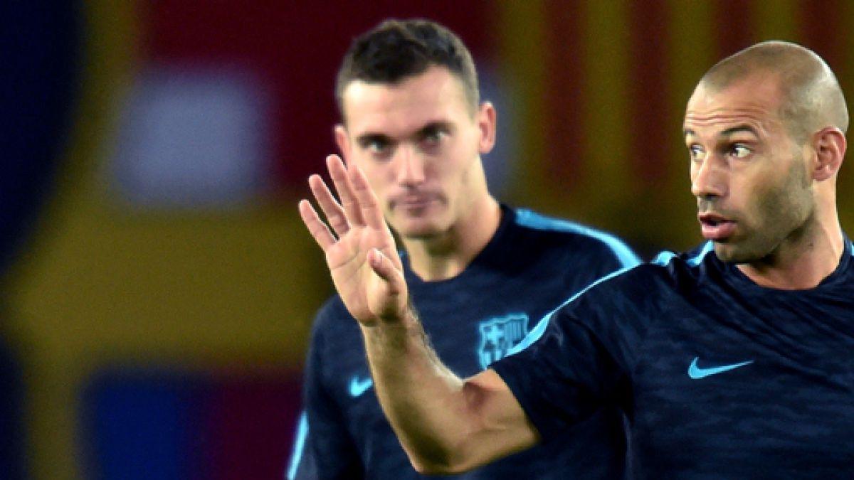 Javier Mascherano es acusado de defraudar al fisco en España