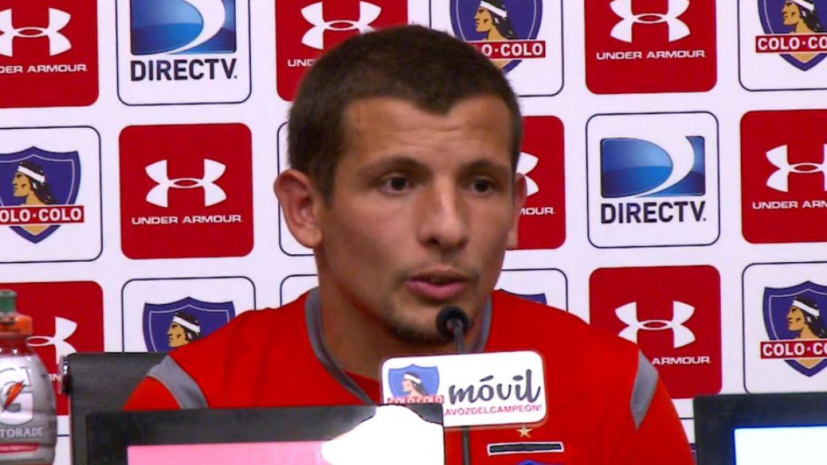 """Vecchio y futuro en Colo Colo: Nadie me hizo una oferta formal para seguir"""""""