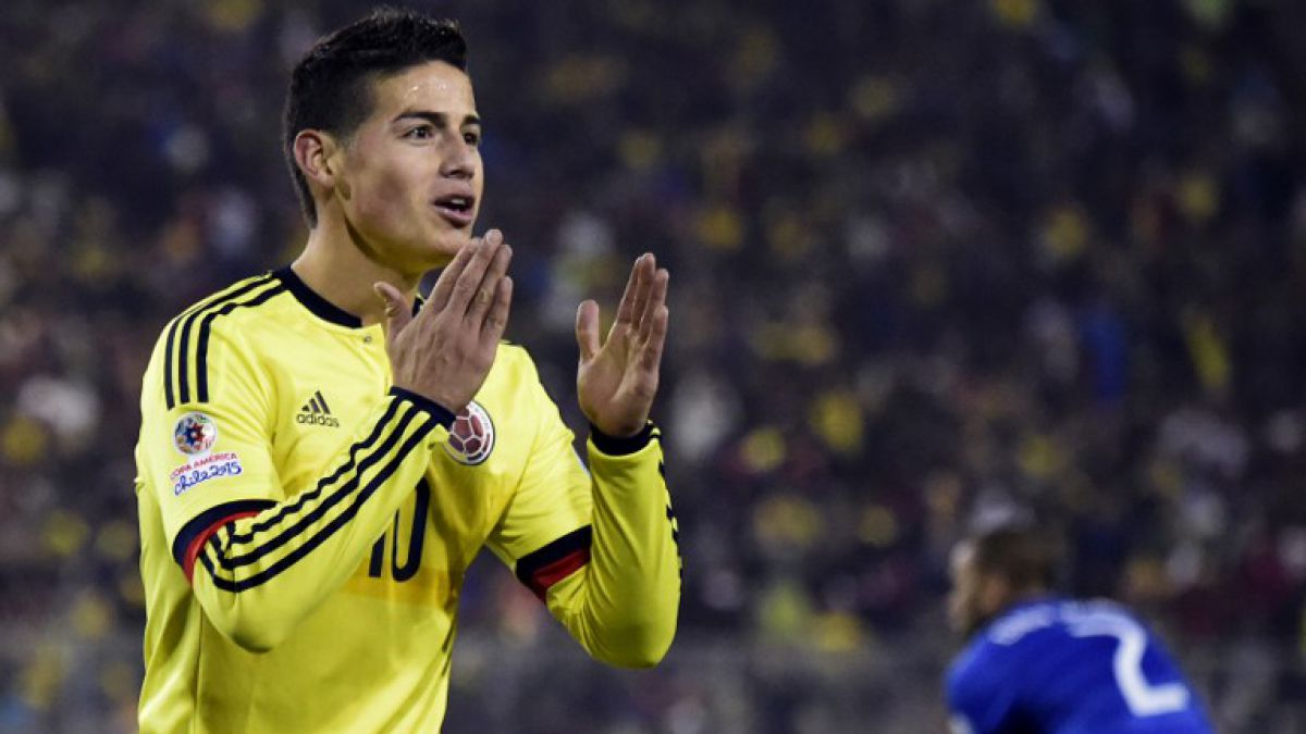 Real Madrid quiere impedir la presencia del colombiano James Rodríguez ante Chile