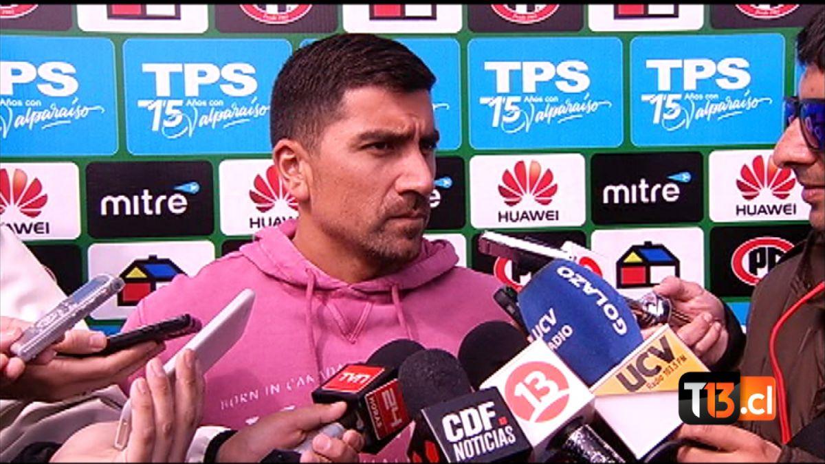 [VIDEO] David Pizarro se ilusiona con su reestreno en Santiago Wanderers frente a Palestino