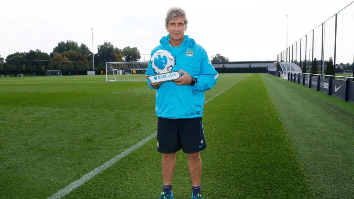 Manuel Pellegrini es elegido el entrenador del mes en la Premier