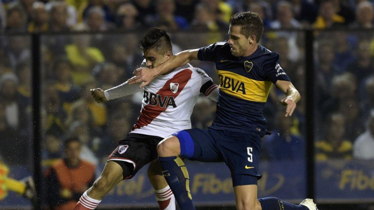 Boca vence a River en el gran clásico del fútbol argentino
