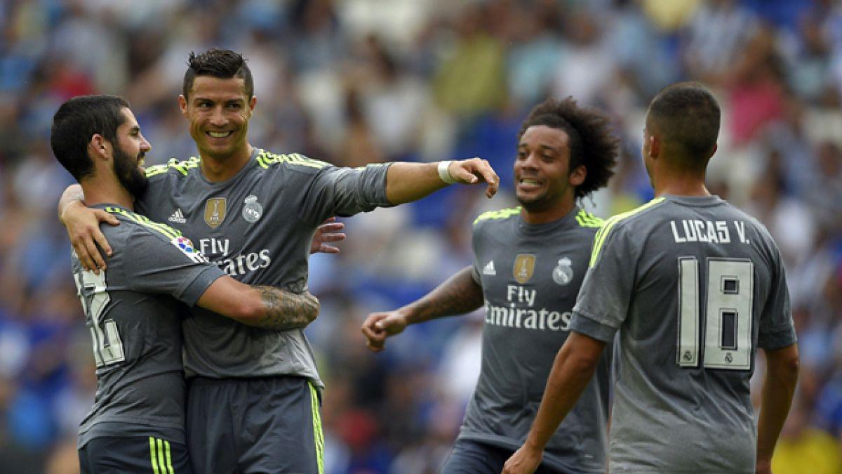 Cristiano Ronaldo se convierte en el máximo goleador del Madrid en la Liga española