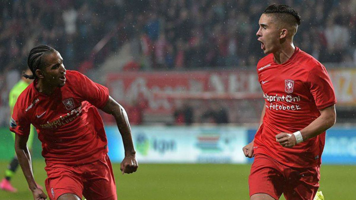 En racha: Felipe Gutiérrez marca en empate del Twente ante Ajax en Holanda