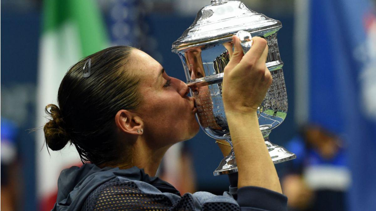 Flavia Pennetta gana el título del US Open